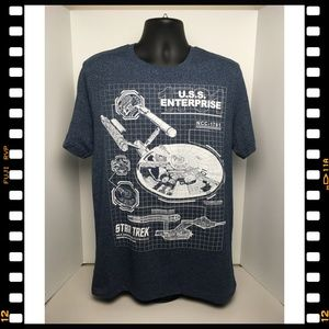 New~T-Shirt~Star~Trek~NCC-1701~Enterprise~